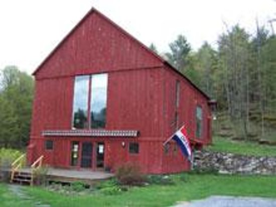 Brandon Music is located in the quaint Vermont town of Brandon.