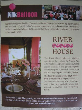 The River House: The brochure