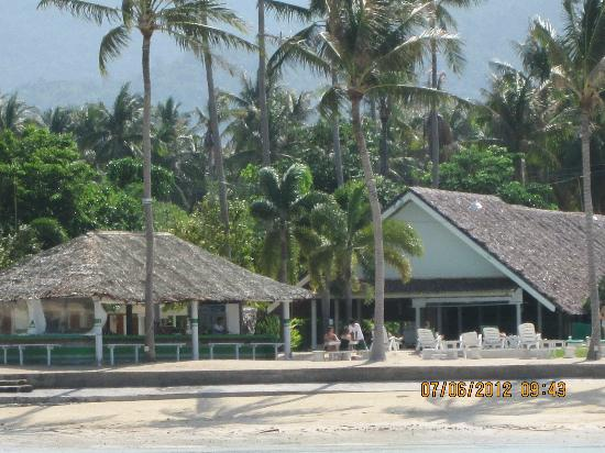 Lime n Soda Beach Front Resort: View from the sea!