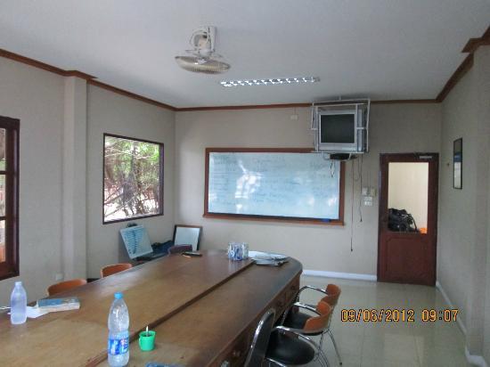 Buddha View Dive Resort: Class room