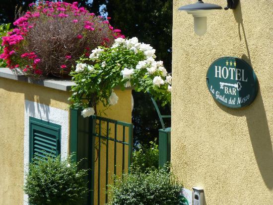 Hotel La Giada del Mesco: Entry to hotel