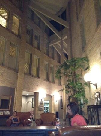 Crockett Hotel: view from the lobby
