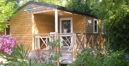 Camping Lou Pantai : lodge confort
