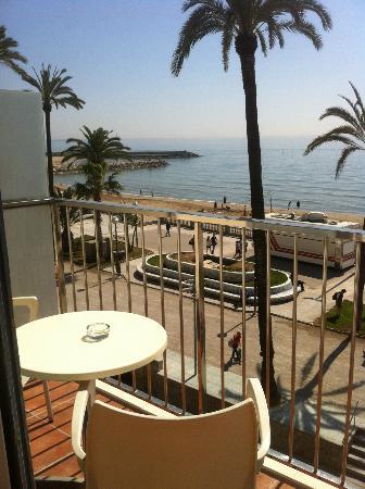 Hotel Subur: vistas al mar...