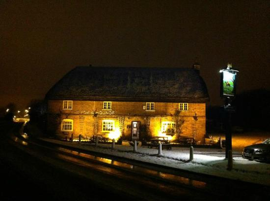 Fox and Hounds: In the snow