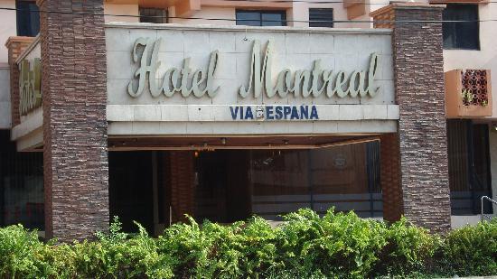 Hotel Montreal : Fachada del Hotel