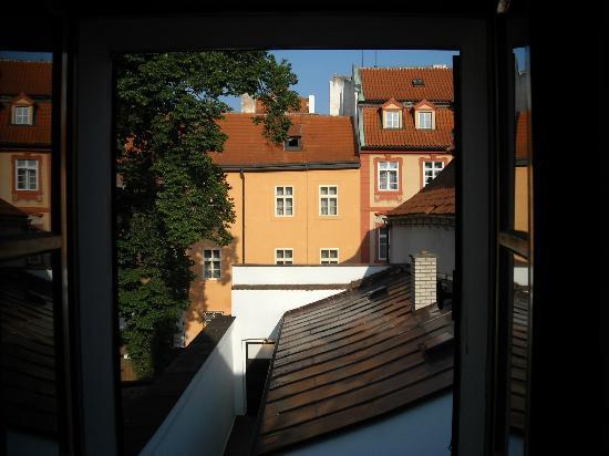 Pension Dientzenhofer: dalla finestra camera 7