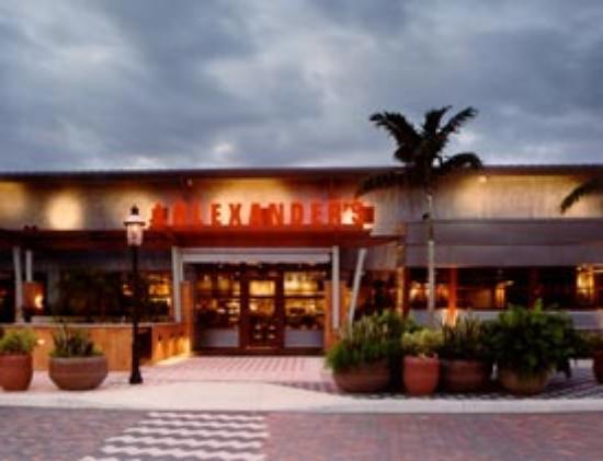 J Alexander Restaurant Menu Boca Raton