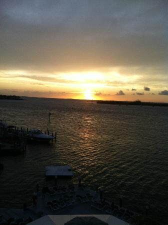 Galleon Resort And Marina: sunset