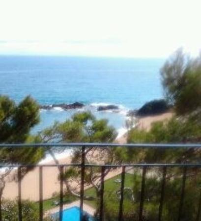 Hotel Santa Marta: Des de la terraza de la habitación
