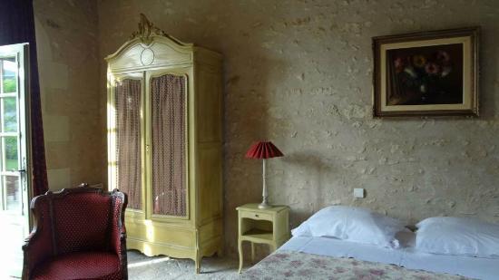 Le Clos de la Chesneraie: chambre