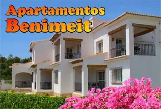 Apartments Benimeit : Fachada