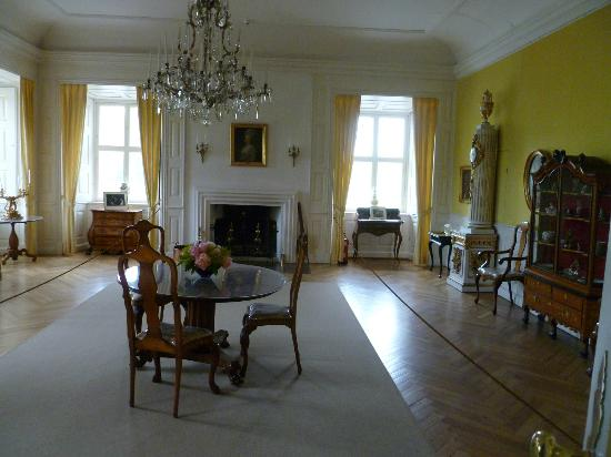 Egeskov Castle: A main living room within the castle