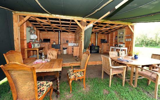 Drybeck Farm: The cookhouse