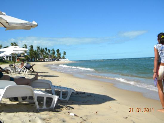 Arraial Praia Hotel Pousada: playa desde hotel