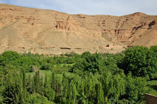 Dar Jnan Tiouira: Vue sur la vallée