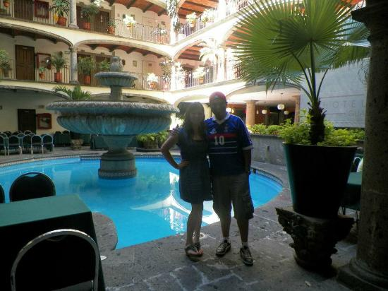 Posada Guadalajara Hotel: alberca
