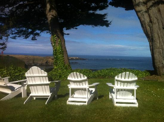 Agate Cove Inn Hotel: Ocean View... bring a book