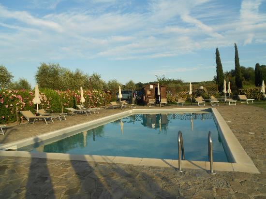 Il Rosolaccio: piscina casale