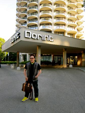 Dorint Hotel An der Kongresshalle Augsburg: ME and Dorint...hehehe