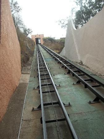 Hotel Balcon del Cielo: funicular