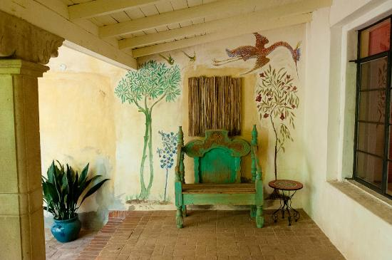 Hacienda Corona de Guevavi: Courtyard