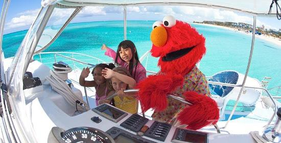 Beaches Turks and Caicos Resort Villages and Spa : Elmo at Beaches Boscobel
