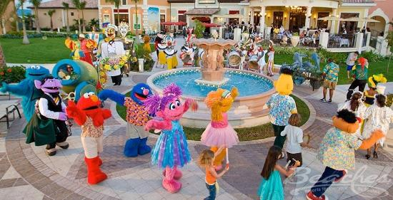 Beaches Turks & Caicos Resort Villages & Spa: Sesame Street at Beaches Boscobel