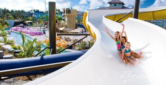 Beaches Turks & Caicos Resort Villages & Spa: Waterpark at Beaches Boscobel