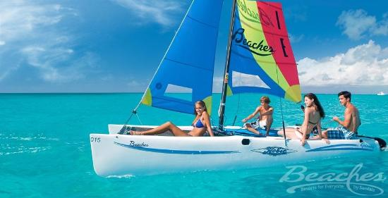 Beaches Turks & Caicos Resort Villages & Spa: Watersports at Beaches Boscobel