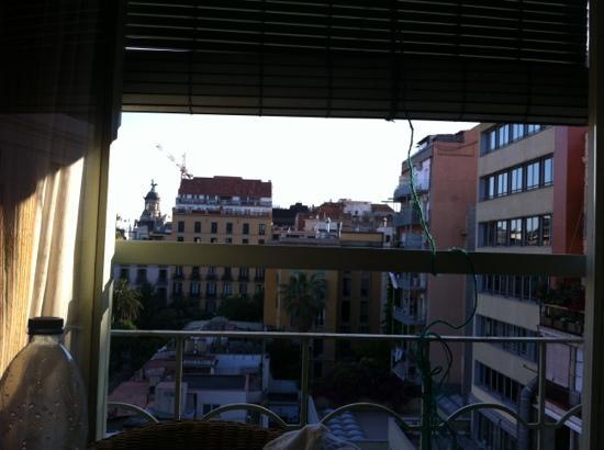 Agua Alegre: Vista da janela.