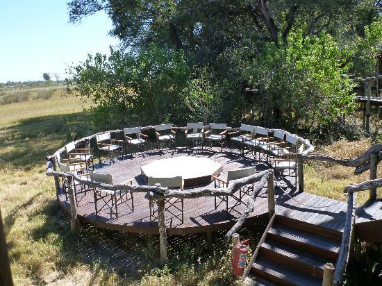Chitabe Camp: Chitabe Firepit