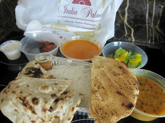 Indian Palace: Butter Chicken Combo