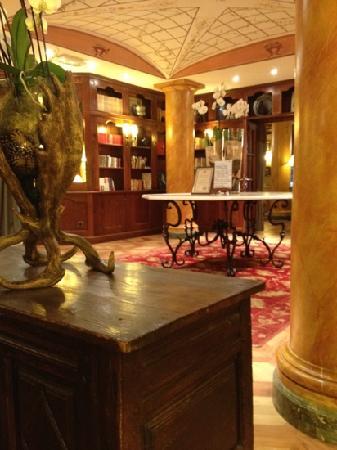 Grand Hôtel des Alpes: la Réception