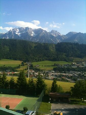 Alpine Club by Diamond Resorts: the view from our balcony