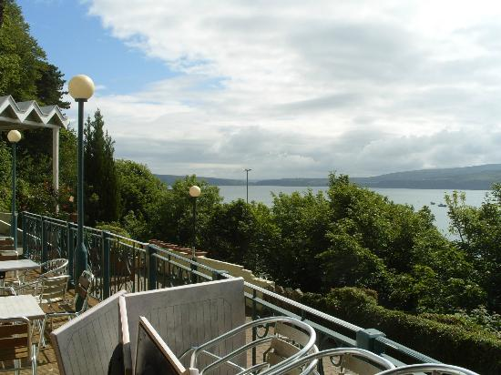 Fishguard Bay Hotel: On the Patio