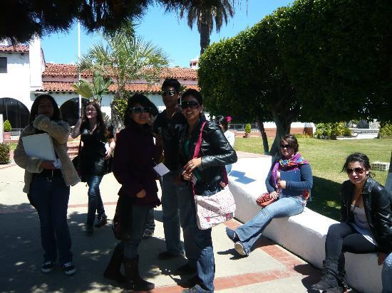 Rivera del Pacifico: en el jardin tematico