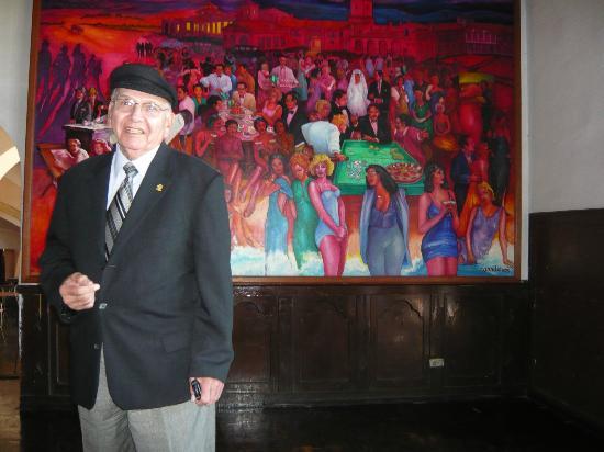 Rivera del Pacifico: las pinturas y su 'restauracion