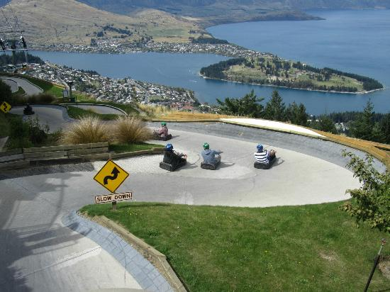 ‪skyline queenstown Luge‬‏