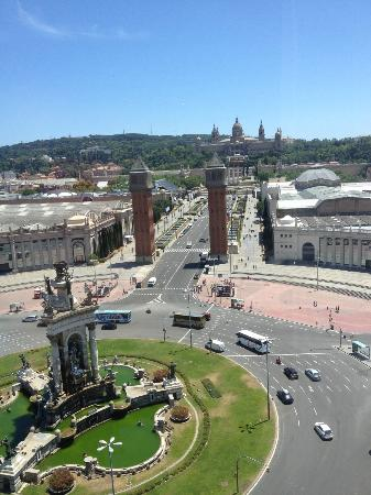 Catalonia Barcelona Plaza: Vista desde la habitación
