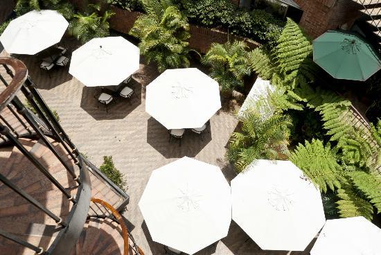 Park 10 Hotel: Terraza