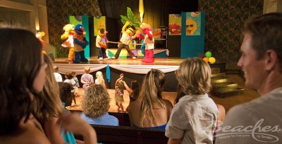 Beaches Negril Resort & Spa: Sesame Street Show at Beaches Negril