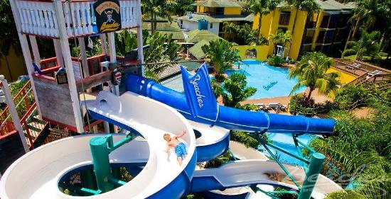 Beaches Negril Resort & Spa: Waterpark at Beaches Negril