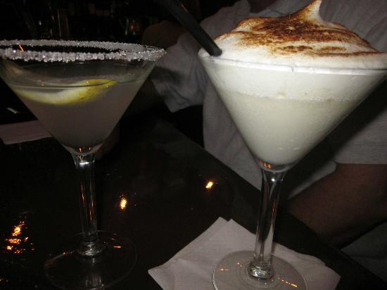 Soho Wine & Martini Bar: Rosemary/lemon and creme brulee martini
