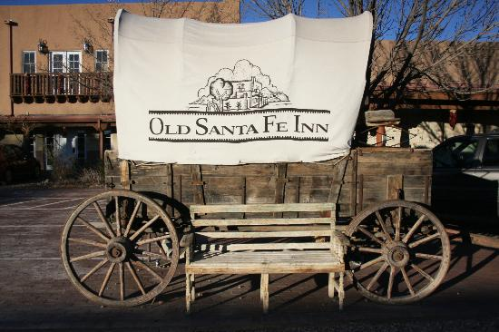 Old Santa Fe Inn: We're near the end of the Old Santa Fe Trail.