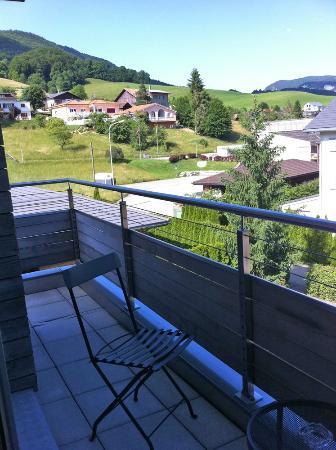 Restaurant de L'Etoile: View from balcony