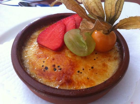 Restaurant de L'Etoile: Delicious desserts