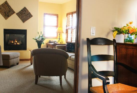 Old Santa Fe Inn: One of our deluxe suites.