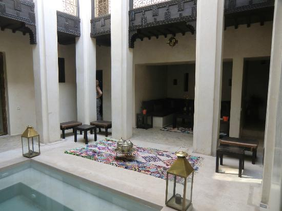 Riad Vanilla sma : View of the reception area