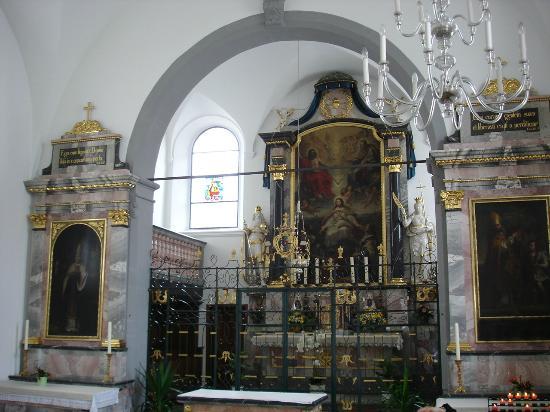 Bundeskapelle Brunnen: Barocker Altarraum